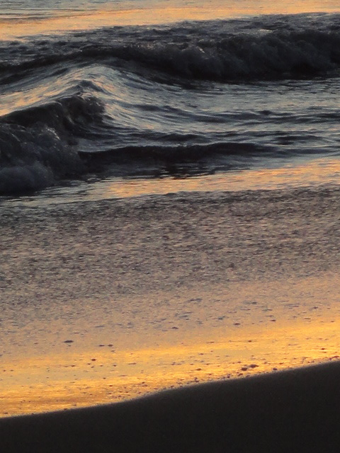 Tide, Sunset 2012