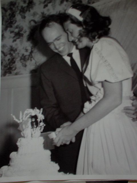 Don Brown and Jo Brown wedding in Pasadena -- PARENTS