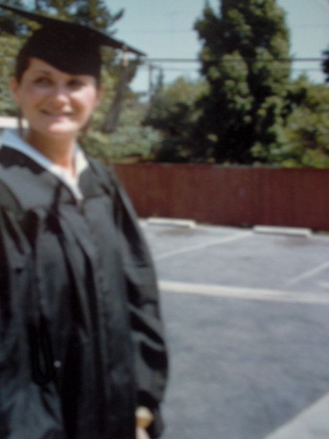 Me the day I graduated UCSB, 1984.