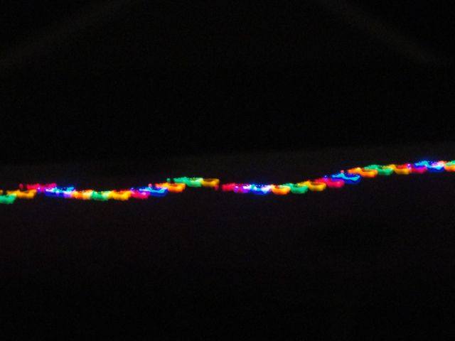 christmas lights <3